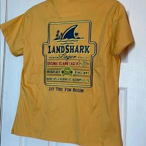 Margaritaville Land shark button down. New!